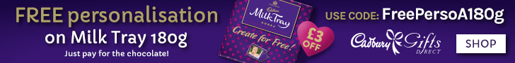 Free Personalisation when you buy the box!