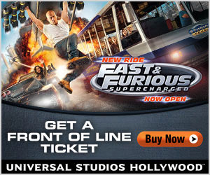 Universal Hollywood Front of Line Tickets